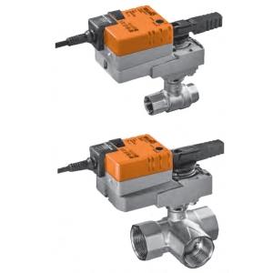 Трехходовой клапан водяного нагревателя или охладителя