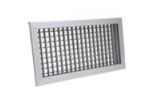 Двустворчатые  внутренние  алюминиевые  решетки